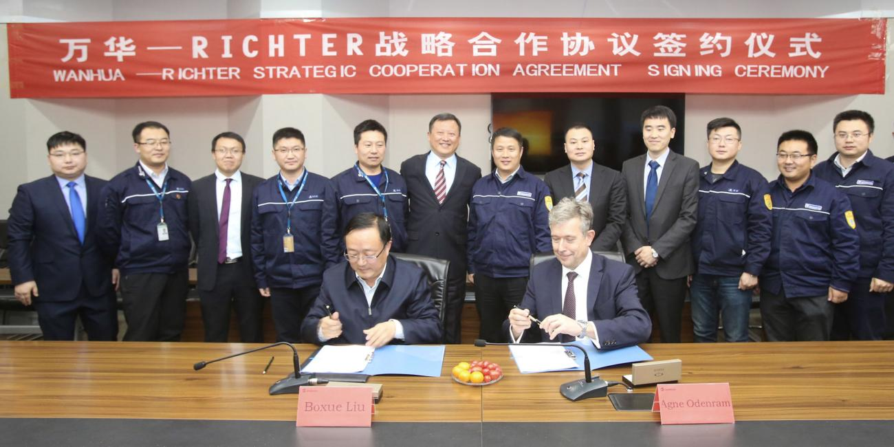 Global Agreement Wanhua Chemical Group
